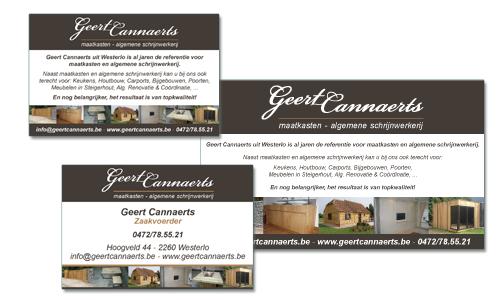 Geert Cannaerts schrijnwerkerij